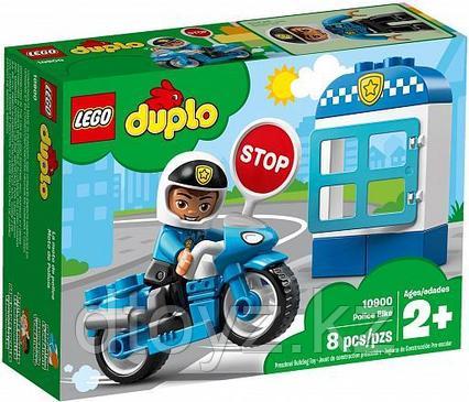 Lego Duplo 10900 Полицейский мотоцикл, Лего Дупло