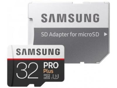 Карта памяти Samsung Pro Plus MB-MD32GA/RU 32 Gb