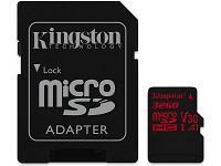 Карта памяти Kingston Canvas React SDCR 32GB