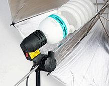 Люминесцентная лампа студийная 200W 5500K для съёмки, фото 2