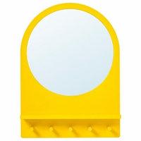 Зеркала Mebel IKEA САЛТРЁД Зеркало с полкой и крючками