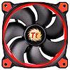 Кулеры и системы охлаждения Thermaltake Thermaltake Riing 14 LED Red, Чёрный