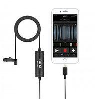 Петличный микрофон для сматрфонов Android USB Type-C Boya BY-DM2