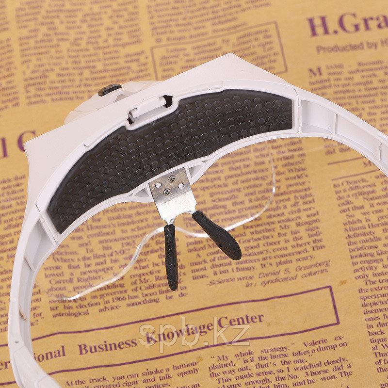 Бинокулярная лупа-очки c подсветкой - фото 5
