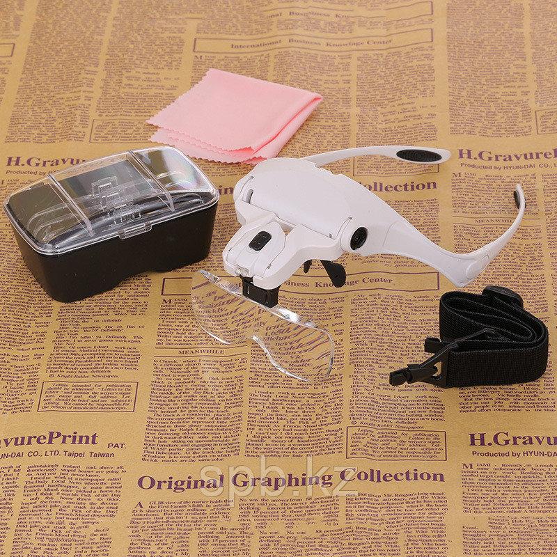 Бинокулярная лупа-очки c подсветкой - фото 3