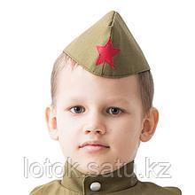 Пилотка военного, детская