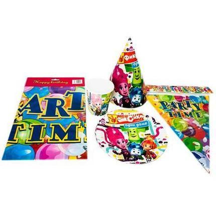 Набор аксессуаров для детского праздника из 32 предметов (Тачки), фото 2