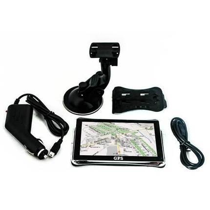 Спутниковый GPS-навигатор автомобильный (Диагональ 5 дюймов), фото 2