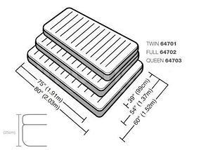 Надувной матрас Dura-Beam INTEX 64701 / 64702 / 64703 (64702, полуторный), фото 2
