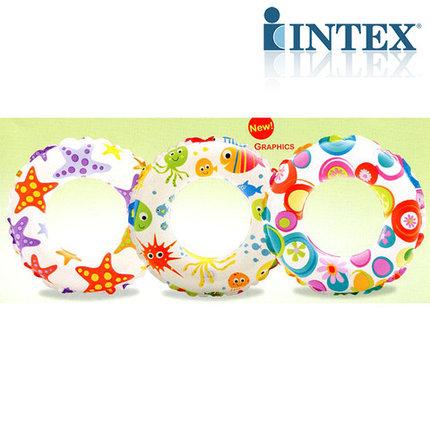Круг надувной INTEX 59230 Lively (Морские звёзды), фото 2