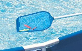Сачок для бассейна для сбора мусора INTEX 29051/29050 (29050), фото 3