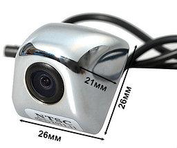 Видеокамера заднего обзора высокого разрешения универсальная E366 (Хром), фото 3