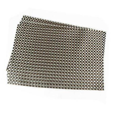 Комплект из 6-ти сервировочных ковриков на обеденный стол (Плетёная), фото 2