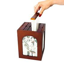 Набор фотоальбомов на 96/120 снимков в деревянном боксе (Горизонтальная), фото 3