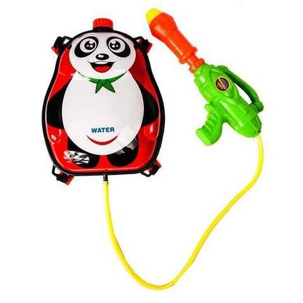 Водяной пистолет с баком-рюкзаком Water Gun (Панда), фото 2