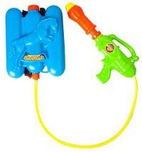 Водяной пистолет с баком-рюкзаком Water Gun (Панда), фото 3