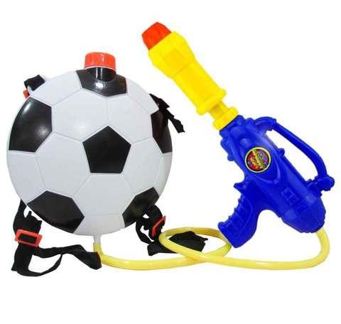 Водяной пистолет с баком-рюкзаком Water Gun (Футбольный мяч)