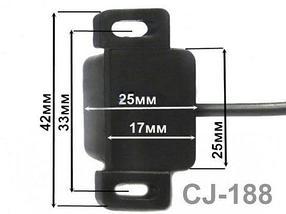 Видеокамера заднего обзора универсальная с инфракрасной подсветкой CJ-178/CJ-188 (CJ-188), фото 3
