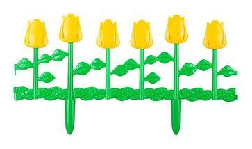 Ограждение-заборчик декоративное садовое Альтернатива (Тюльпаны), фото 3