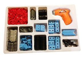 Конструктор с электроотверткой BUILDER'S FUN 661-301 (360 деталей), фото 3