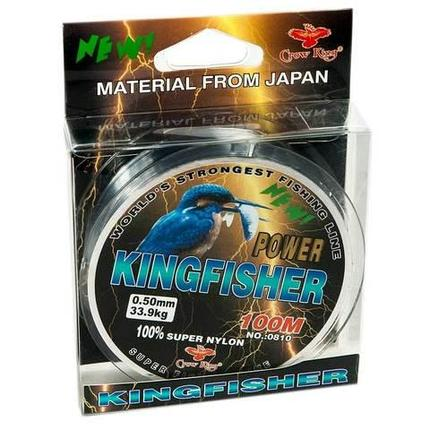 Леска рыболовная Crow King KINGFISHER 0810 [0.2- 0.5 мм, 100 м] (0.2 мм), фото 2