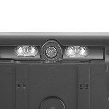 Рамка под номер автомобиля с камерой заднего вида (Белый), фото 2
