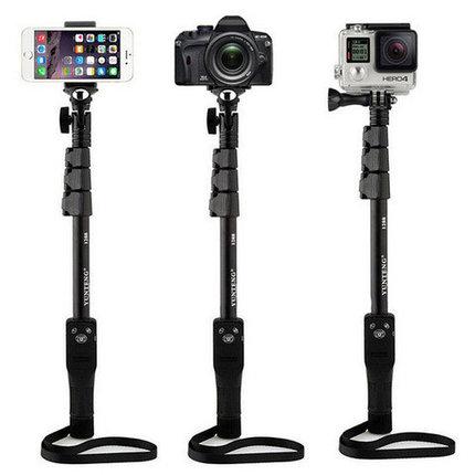 Монопод для селфи универсальный YUNTENG YT-1288 для фотокамеры или смартфона (Без пульта), фото 2