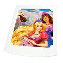 Комод пластиковый 4-х секционный детский РОСПЛАСТ (для девочки), фото 2