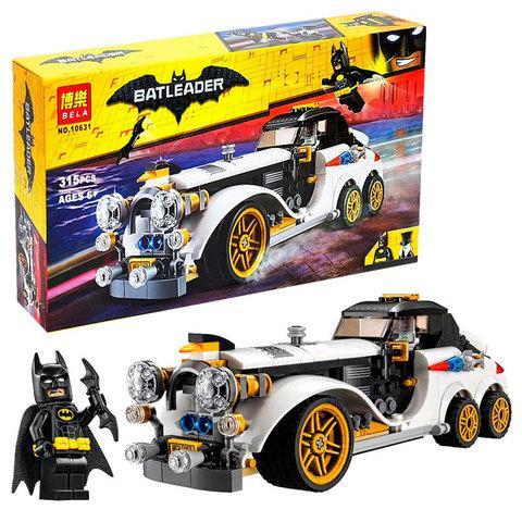 Конструктор BELA из серии «Batman Movie» [136–816 деталей] (10634, Бэтмобиль)