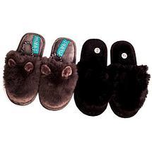 Тапочки детские домашние с ушками VEROSSA (26-27 / Серый), фото 3
