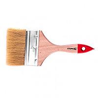 """Кисть плоская """"Стандарт"""" 4"""" (100 мм), натуральная щетина, деревянная ручка MTX"""