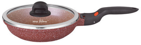 Сковорода со съемной бакелитовой ручкой  Nice Cooker GOOSE Series [26, 28 см] (26 см), фото 2