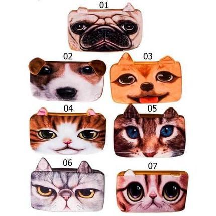Пенал-косметичка в виде кошки и собаки (07), фото 2