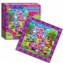 Набор для творчества «Кристалл картина» по номерам Vladi Toys (Принцесса и принц), фото 2