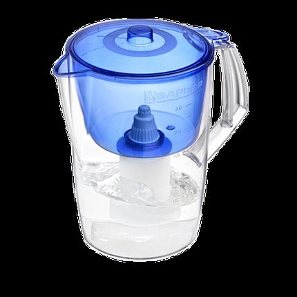 Фильтр-кувшин для воды «Барьер» Лайт + 1 картридж 3,6 л (Красный), фото 2