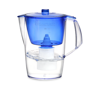 Фильтр-кувшин для воды «Барьер» Лайт + 1 картридж 3,6 л (Синий)