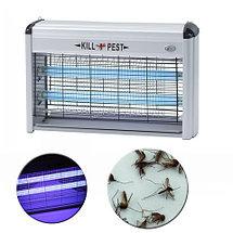 Уничтожитель летающих насекомых ультрафиолетовый PEST KILLER [12; 16; 30; 40 Вт] (30W), фото 3