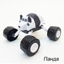 Чудо-машинка «Вспыш» с гнущимися и вращающимися на 360 градусов колёсами NO.PS331 (Панда), фото 2