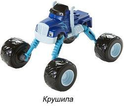Чудо-машинка «Вспыш» с гнущимися и вращающимися на 360 градусов колёсами NO.PS331 (Синий пикап), фото 3