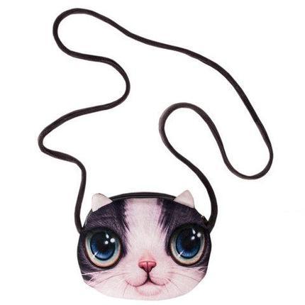 Сумочка с 3D изображением кошки (02), фото 2
