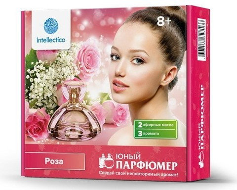 Набор для творчества «Юный парфюмер мини» [роза; апельсин] (Роза), фото 2