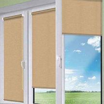 Шторы рулонные для декорации окна NURADIL SAUDA (90х180 см / Ванильный), фото 2