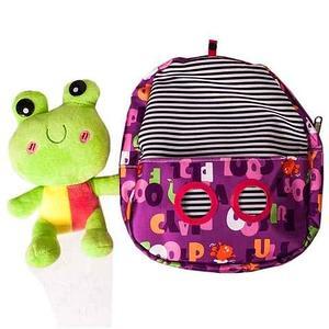 Рюкзачок детский с игрушкой («Лягушка»)