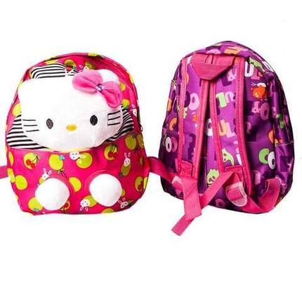 Рюкзачок детский с игрушкой (Hello Kitty), фото 2