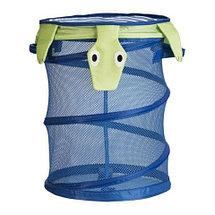 Корзина для хранения игрушек [35х35 см] (Зелёная гусеница), фото 3
