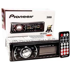 Автомагнитола с пультом управления Pioneeir [USB, MP3, AUX, RCA, FM; 4х50 Вт] (300)