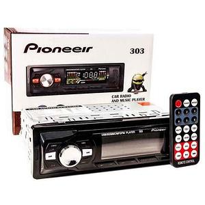Автомагнитола с пультом управления Pioneeir [USB, MP3, AUX, RCA, FM; 4х50 Вт] (303)