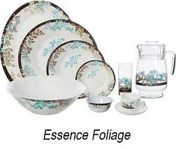 Сервиз столовый Luminarc Essence Foliage / Essence Malva / Essence Matiz (Essence Malva (38 предметов)), фото 2