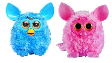 Интерактивная игрушка Ферби по кличке «Пикси» (Синий)