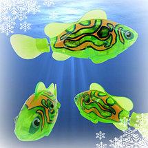"""Интерактивная игрушка """"Рыбка-робот"""" светящаяся ROBOFISH [2 шт.] (Желтый), фото 3"""